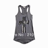 New 2013 Women's Waistcoats Free Shipping Sports Shirt Is Female Women's Vest Tanks T Shirts Sarafan