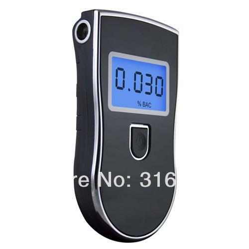 100pcs/lot 2014 hot selling alcohol tester with 5 mouthpieces alcohol testers alcohol meter supplier wholesale at-818(China (Mainland))