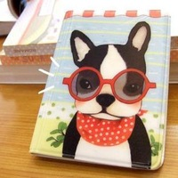 Daily super large capacity clip dog card holder women's multi card holder card book card case