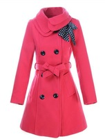Women's spring and autumn outerwear 2013 woolen overcoat female medium-long slim woolen outerwear
