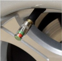 New car Tire Pressure Monitor Valve Stem Cap Sensor Indicator 3 Color Eye Alert 2.0 bar