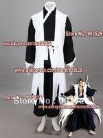 Free Shipping  Apparel Bleach 11th Division Captain Zaraki Kenpachi Cosplay Costume, any measurements