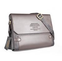 Hot sale high quality leather men bag good design males' s briefcase messenger bag fashion shoulder bag handbag Free shipping