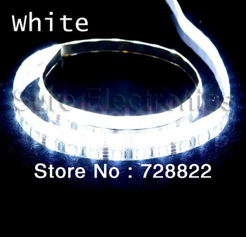 5M 3528  60 LED Strip DC12V 20W Red/Yellow/Blue/Green/White/Warm White Non-Waterproof Strip Free Shipping