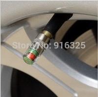 New car Tire Pressure Monitor Valve Stem Cap Sensor Indicator 3 Color Eye Alert 32 PSI