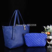 NB057 - Summer Knitted Women's Handbag Fashion Vintage Bag Handbag Messenger Bag