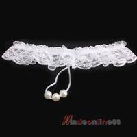 New Sexy G-string V-string Fashion Beaded White Lingerie Underwear Women M3AO