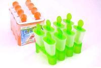 Retail 2 color 8 Case Popsicle Box DIY Ice Cream Mould (KA-14)