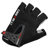 NEW Nature leather palm fingerless Gloves Castelli S. Rosso Corsa Bicycle gloves MTB/Moto Gloves  XL