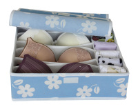 7 underwear bra storage box storage box panties socks eco-friendly storage box non-woven