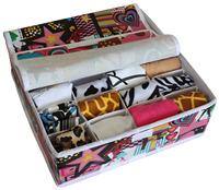 Membrane waterproof socks storage box desktop storage box storage box