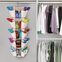 Swivel bag clothes tie bags shoes storage bag