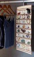 Jewelry storage hanging bag storage bag necklace accessories storage bag , jewelry storage