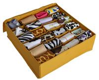Panties socks storage box finishing box water wash oxford fabric hollow board folding storage box
