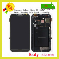 Verizon For Samsung Galaxy Note 2 II I605 LCD Display Screen + Touch Digitizer Grey
