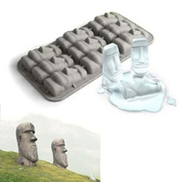 Freeshipping Easter stone shape  ice cube tray,ice box,STONE COLD statuesque ice tray,ice mold 16pcs/lot