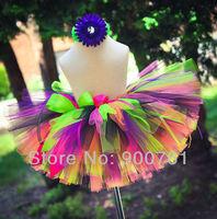 rainbow Princess Petti Tutu,girls tutu ballet skirt,tutu skirt ,baby tutu , toddler tutu , MOQ 1 pc