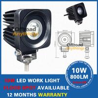 "4pcs 2"" 10W Cree LED Work Light Lamp Bulb Off-Road 4WD 4x4 12v 24v Truck SUV ATV Spot Flood Super Bright"