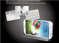 High Quality!!  For Samsung Galaxy s4 i9500 Screen Protectors with Packaging + Wipe Cloth, Wholesale 10 pieces, Free Shipping