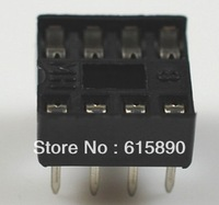 Free Shipping 120PCS/LOT 8pin DIP IC sockets Adaptor Solder Type 8 pin