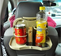 Free Shiping Car Seat Tray mount Food table meal Desk Stand Drink Cup Holder