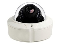 1.3 Mega Network Vandalproof Dome Camera with 2.8-12mm Varifocal Lens ,support Onvif
