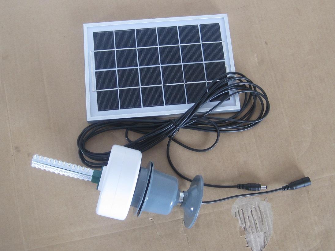 Solar emergency light split led indoor lamp bright 6v 3.5w(China (Mainland))