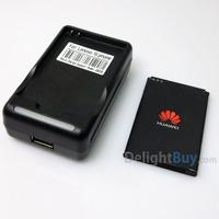 YIBOYUAN dock charger with Original 1500mah Battery HB4F1 for Huawei E5331,E5,E5S,E585, E586,E5830,etc 3G router.