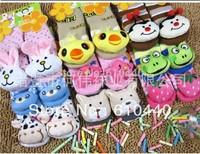 Free shipping 6pair/lot baby shoes socks  kids Floor Socks skidproof shoes indoor footwear Baby footwear toddler shoes/