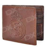 The Spanish Football League Real Madrid fans supplies gift wallet genuine leather wallet lather-bag genuine leather