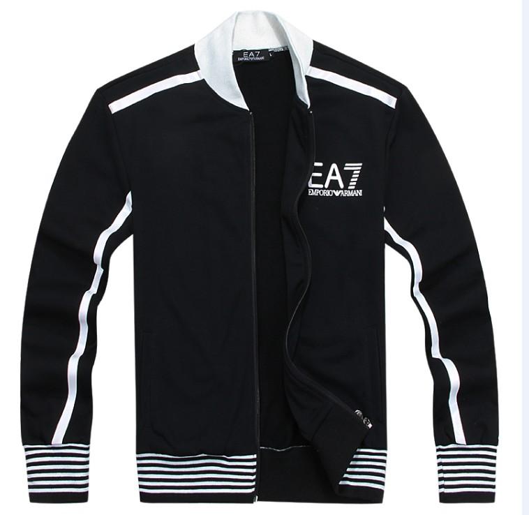 EA7 толстовки верхней одежды ea7 логотип