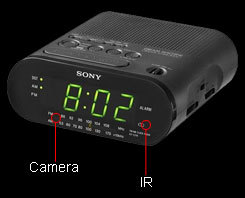 Radio Clock Multi 3G Camera,sPYall thing ,Covert action,privacy