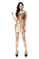 FREE SHIPPING Skirts Women 2013 Fashion Walker TQ034 High Flexible  Printed Slim Vest Skirts Plus Size Wholesale