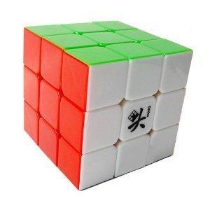 Dayan Guhong 3x3x3 Stickerless Brain Teaser Speed Cube Puzzle White 57mm