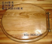 Solid wood material toilet lid potty cover wood toilet cover nylon hinge old style toilet