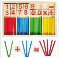 Free Shipping Child digital stick wooden blocks toy stick yakuchinone stick infant