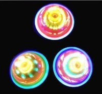 Children's toys Birthday present 24pcs/set novelty luminous spinning top  hot sell toys for children
