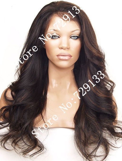 Manikin Head With Long Human Hair 2