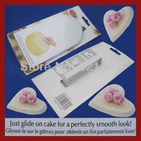 Free shipping Cake Smoother Decorating Polisher Sugarcraft Sharp Edge Kitchen Fondant Tool