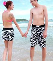 Free Shipping  KZ10 Zebra Beach pants Men's shorts