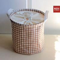 Large laundry bucket storage basket fluid cloth eco-friendly laundry basket storage bucket at home supplies