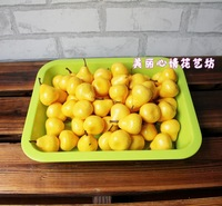 Artificial fruits and vegetables pear fruitlessness pears props decoration toy