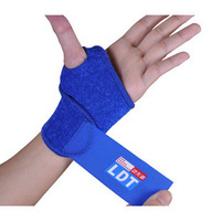 Basketball badminton sports protective clothing quality set thumb wrist support spirally-wound adjustable velcro