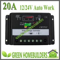 12V/24V 20A Solar Charge Controller