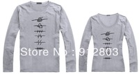 [ANYTIME] Lovers' Autumn Naruto Long-sleeve T-shirt, High Quality Autumn New Arrival Women's Men's Sign T Shirts,  Free Shipping