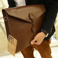 2013 man bag canvas bag fashion bags day clutch file bag one shoulder cross-body