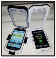 High Quality PC Waterproof Shockproof Snowproof DirtProof Case Cover Box For Samsung Galaxy S3 SIII i9300 Free Drop Shipping