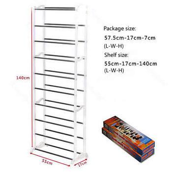 Design Housekeeping Home 10 Shoe Boot Organizer Storage Rack Stand ShelfFree Shipping wholesale/retail