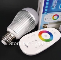 Brand New Sealed Wireless LED Bulbs For Home E27 Lamp Bulb 10w Changeable with remote   WIFI LED Light Bulb For Iphone