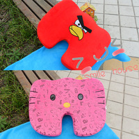 Cartoon memory foam car cushion memory cotton thickening cushion nice bottom pad